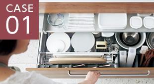キッチンリフォームの画像