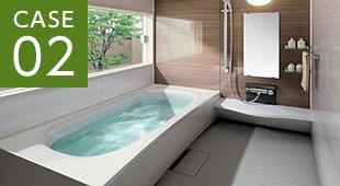 浴室リフォームの画像
